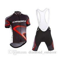 achat en gros de cyclisme vélos de prix de gros-Prix de gros usine Pantalons ORBEA Bib Avec Cyclisme Maillots manches courtes ORBEA vélos Wear / Vêtements de Cyclisme / vélo Vêtements S-4XL