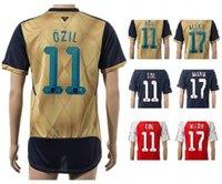 moisture balls - 2015 CHAMPIONS LEAGUE Thai Quality Discount Home Away rd Away WILSHERE Soccer Jerseys Shirts OZIL cheap Soccer ball Tops Soccer Wear