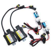 Wholesale 55W DC V H1 H3 H7 H8 H9 H11 Xenon HID kit Car Headlight Conversion lamps K