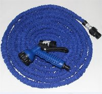 Wholesale HOT FT FT FT hose Expandable Flexible Water Garden Hose HOSE Blue Green