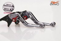 Wholesale lever tap Titanium Gray New Style CNC Short Brake Clutch Levers For YAMAHA TMAX T Max