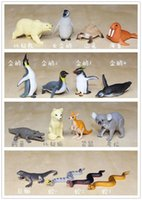 big platypus - solid pvc figure simulation model toy marine animals polar bear arctic fox crocodile penguin platypus Collectibles set