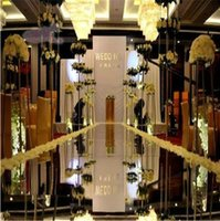 wedding supplies - 1 m m roll Fashion Silver Mirror Carpet Aisle Runner For Wedding Party Backdrop Decoration Supplies
