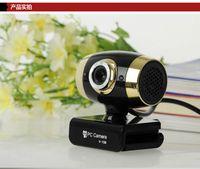 ≤ 1 Mega 1600*1200 USB camera HD desktop computer notebook video camera with microphone mic night vision video head