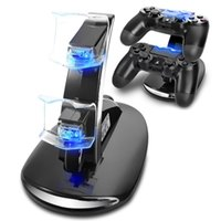 Wholesale Dual PS4 Play Station USB Charging Controller