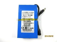 Wholesale Hot sale YSD DC V mah Li polymer battery for for CCTV Camera power tools with charger fedex