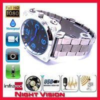 watch dvr recorder - 8GB Spy Camera Waterproof HD Spy Watch DVR P Night Vision Hidden Video Spy Camera Recorder