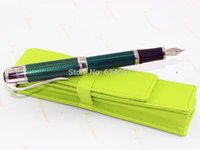 Wholesale is Piano Master series Green Fountain Pen FGHT639920 pen bag best gift
