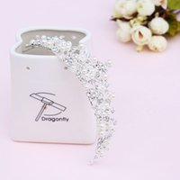 amazing handmade jewelry - 2016 Amazing Han Edition Hair White Pearl Crystal Bride Headdress Handmade Wedding Accessories Bridal Hair Jewelry