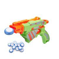 Wholesale 12 Soft Disk Gun Bullets for Nerf Mini Foam Frisbee Guntoys Blue for Kid Toy Guns