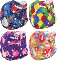 diapers for kids - Brand New Cloth Diapers Couche Lavable Reusable Baby Nappies Multi Color Baby Nappies For Baby Little Kids