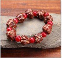 bad beads - new top grade fashion pineapple Lotus Flower bracelet grape fruit beads bracelet Be safe to ward off bad luck bracelet
