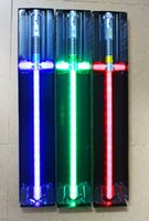 Wholesale 2016 Star Wars Lightsaber Light Saber Telescopic Star Wars Weapons laser Sword Toy PVC Action Figure Cosplay Toys
