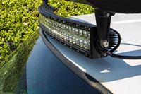 Wholesale 50 inch W x4 Cree Led Car Light Curved Led Light bar Off road auto led light arch bent curved led light bar