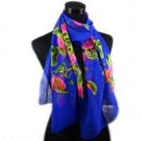 Georgette fashion scarf - 16Styles New Women s Fashion Georgette Long Wrap Shawl Beach Silk Scarf Scarves