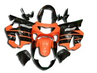 Wholesale F4 CBR600 Injection Fairings for Honda CBR600RR F4 CBR CBR RR Body Kits ABS Plastic Orange Black
