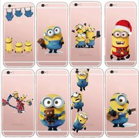 minions case - Latest Silicon Cover Despicable Me Yellow Minion Case For Apple iPhone s s Soft Clear Phone Shell for iphone4 s c