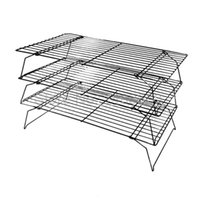 bakery rack - High Quality Tier Cake Baking Cooling Rack Nonstick Stackable Grid Cooking Cake Pies Bakery Oven