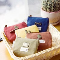 purse hardware - Han edition style restoring ancient ways is small and lovely hardware zero canvas purse key bag hand bag