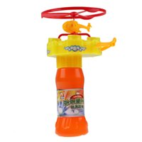 Wholesale New Baby toys Kids Bubble Gun Helicopter Bubble Toy Children Gifts Brand high quality