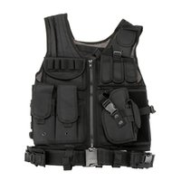 Wholesale Outdoor Military Tactical Vest Army Airsoft Game Hunting Vest for Camping Hiking Y0397