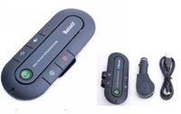 Wholesale Wireless Multipoint Wireless Handsfree Speakerphone Cell Phone Bluetooth Hands Free v3 Car Kit Black