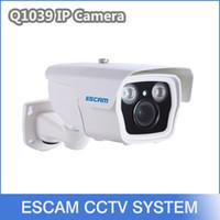 zoom ip camera - ESCAM Q1039 quot CMOS HD P Onvif mm X Auto Zoom M IR Range P2P Waterproof Home Outdoor Security IP Camera CCTV Free DHL
