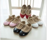 Wholesale 2015 new leather shoes children shoes princess patent leather