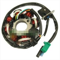 Cheap For Motorcycle Scooter GY6 125 150 for the generator coil of the stator pole DC 8
