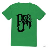 band tshirts - Men Pearl Jam Letter Logo T Shirts Music Rock Band Tshirts Personalized Top Tees Summer Short Sleeve T shirts Camisetas