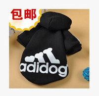 pet dog clothing - The new pet clothes sell like hot cakes color fleece fleece dog clothes supplies