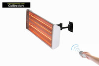 Wholesale Remote Control Halogen Heater Board V W Flat Wall Top Upper Infrared Halogen Heating Plate For Home Garden