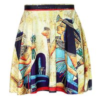 ancient egyptian beauty - Yoga3 Ancient Egyptian rural life quality feel ancient beauty of paragraph paragraph skirt skirts female skirt vintage mural