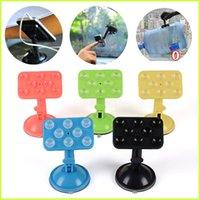 Cheap 10pcs Universal Car Phone Holder Windshield Cradle Desktop Suction Holder Stands Dashboard Mount Bracket For New Iphone6 Iphone6 plus Samsu