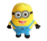 Wholesale Despicable Me Kids Toys Lover Christmas Gift Creative Stereoscopic D Glasses Thief Dads Yellow Children Plush Toy Doll New