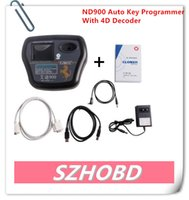 car chip programmer - Super ND900 Auto Key Programmer with D Decoder professional car key duplicator ND directly copy all of D4C chip