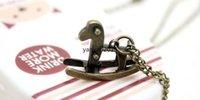 ancient trojans - Factory Direct Ancient bronze Trojan horse necklace vintage necklace necklace