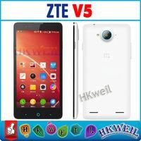 Cheap ZTERedBullV5 Quad Core MSM8926 Smartphones 2GB RSM 8GB ROM 1080*720Pixels 5+13MP 5Inch HD Android 4.2.2 Unlocked Phone