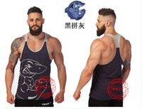 100% cotton shirt fabric - Latest shirt designs for men cotton fabric top tank sports fitness apparel Golds gym mens underwear gym shark men s clothing gymshark