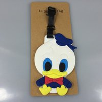 Wholesale excellent TRAVEL TAG unisex cute lovely luggage tag cartoon movie popular cute luggage tag hot sale christmas gift