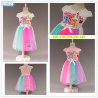 assorted princess - 2015 new frozen fashion children girls princess dress assorted colored gauze dress printed flowers Low price A071032