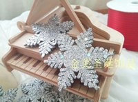 christmas craft supplies - pack Christmas tree decoration cm silver snowflake party and tree ornament craft supply wedding decoration