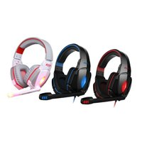 Wholesale EACH G4000 Stereo Gaming Headphone With Mic Volume Control For Computer Laptop Professional Headset