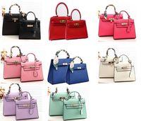 Wholesale M Brand Mini Bags Famous Brands Purse Children s Leather Handbags Girl s Mini handbags Totes Kid s Small Designer Lock Bags Shoulder Bags B