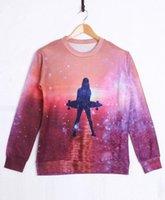 Cheap [Magic] Skateboard Girl Autumn Winter fashion New 3d sweatshirt For Women Men funny print hoodies sweatshirts top B03 free ship