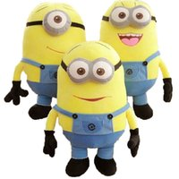 Wholesale Despicable Me Plush Soft Toy In Movie Minion Minions D Eye Doll Xmas Gift cm