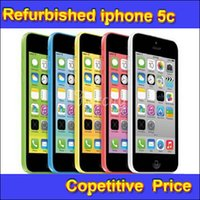 Wholesale 100 Original Refurbished Apple iPhone C Cell Phone IOS8 Inch GB GB Unlocked Iphone C Refurbish