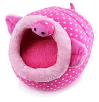 Wholesale The new powdery pink pig pet Waterloo Lovely dog kennel cm