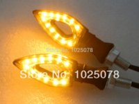 Wholesale Freeshipping Smoke Euro LED Turn Signal Indicators for Suzuki ts dr drz drz400 gsxr gs M52809