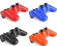 usb game controller - Wireless Bluetooth Controller for PS2 PS3 Game Console PC Sixaxis Joystick Gamepad Mini USB Vibration Battery Retail Box
